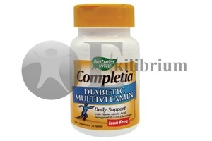 Completia Diabetic Multivitamins (fara fier)