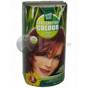 Henna plus long lasting colour copper red 7.4