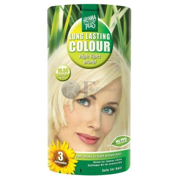 Henna plus long lasting colour high light blond 10.00